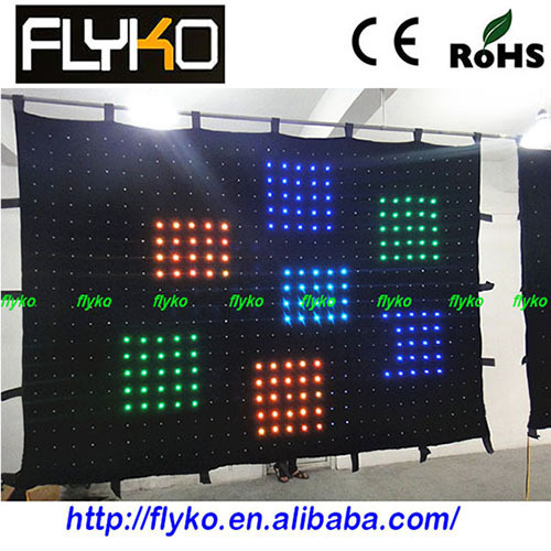 Clear Curtain Stage Led Video Display Screen