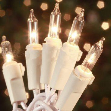 Clear Mini Christmas String Lights