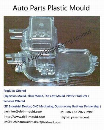 Clear Plastic Parts Mould
