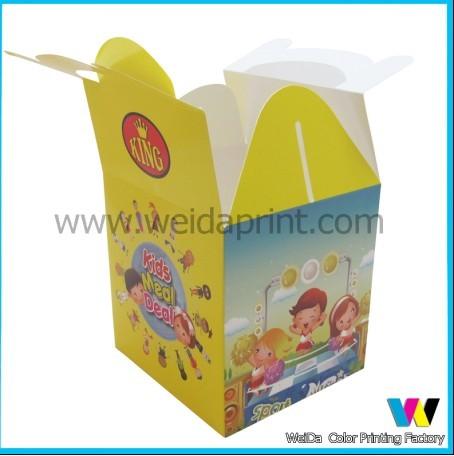 Clear Pvc Window Cupcake Boxes Cheap