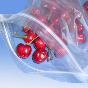 Clear Zipper Bag For Foods