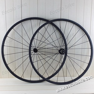 Clincher 20mm 20 5mm Wide 700c Carbon Road Bike Wheelset