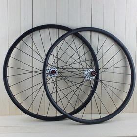 Clincher 23mm 27 5er Tubeless Mtb Carbon Wheelset With Novatec Hubs D711sb