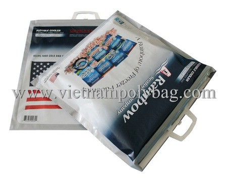 Clip Close Handle Plastic Bag