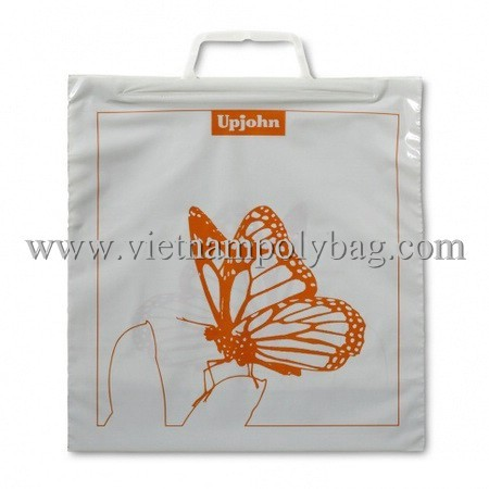 Clip Loop Handle Plastic Carrier Bag Made In Vietnam