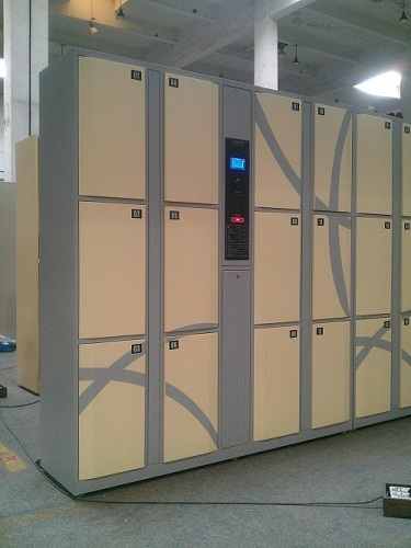 Clothes Changing Electronic Locker