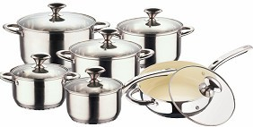 Cnbm 5 Steps Bottom Stainless Steel Cookware Sets