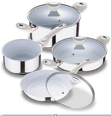Cnbm Ceramic Coating Stainless Steel Cookware Sets