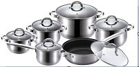 Cnbm Hollow Series Stainless Steel Cookware Set