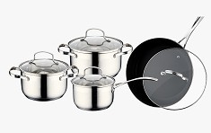 Cnbm Wire Series Stainless Steel Cookware Set