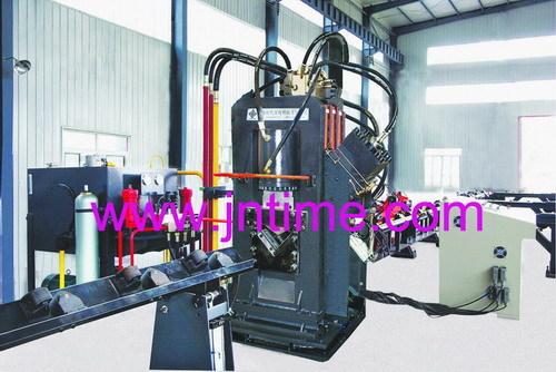 Cnc Angles Automatic Punching Marking Shearing Reinforced Production Line