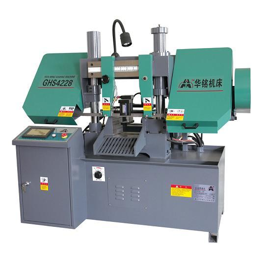 Cnc Hydraulic Metal Cutting Band Sawing Machine Ghs4235
