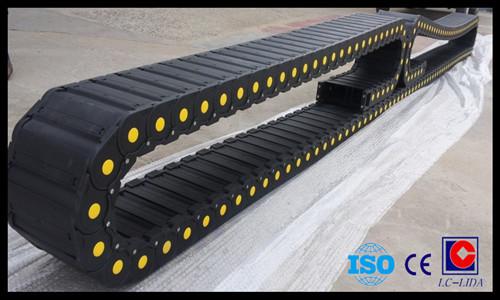 Cnc Machine Pa66 Plastic Cable Drag Chain Lx56 Series
