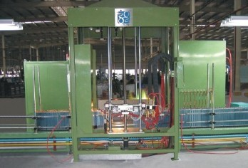 Coil In Line Auto Brazing Machine For Coils