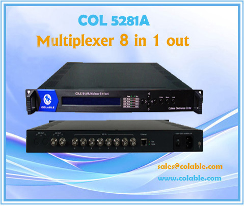 Col5281a Multiplexer 8 In 1 Out