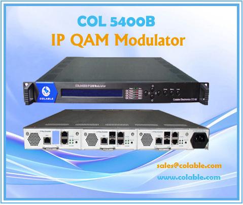 Col5400b Ip Qam Modulator