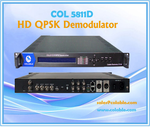 Col5811d Hd Qpsk Demodulator Ird Contents Interface Protocol