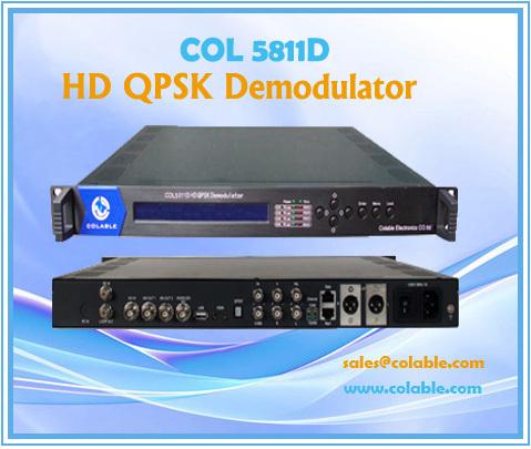 Col5811d Hd Qpsk Demodulator Ird