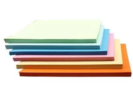 Color Copy Paper Colorful