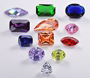 Color Cubic Zirconia