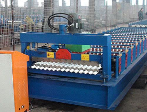 Color Steel Tiles Machines