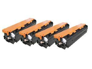 Color Toner Cartridge Compatible With Hp Series Cb540 541 542 543