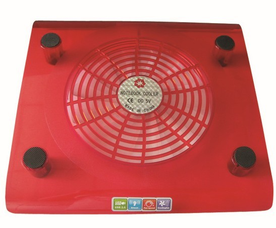 Colored Binshar 200 Mm Notebook Computer Cooling Pads