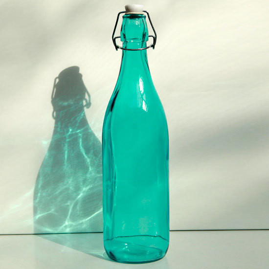 Colored Glass Beverage Bottles Empty Mineral Water Beer With Swing Top