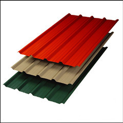 Colourful Corrugated Steel Plate