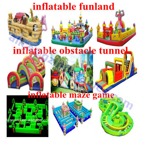 Commercial Inflatable Fun Castle