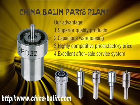 Common Rail Injector Nozzle Dlla118p1357 Dlla151p2182
