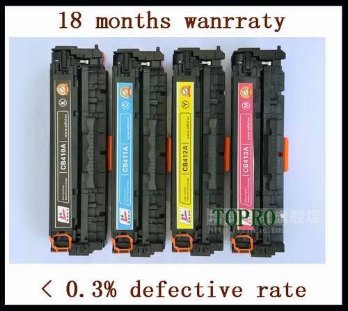 Compatible New 305a Ce410a Ce411a Ce412a Ce413a Color Toner Cartridge For H