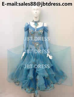 Competition Ballroom Dance Dress Of High Quality Jm2437