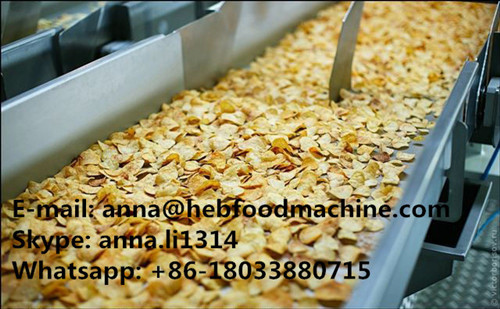 Compound And Natural Potato Chips Production Line