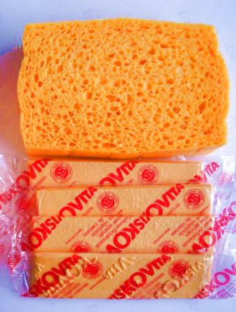 Compressed Printing Sponge