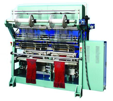 Computer Controlled Jacquard Scarf Raschel Warp Knitting Machine