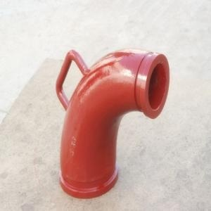 Concrete Pump Reducer Elbow With Handle