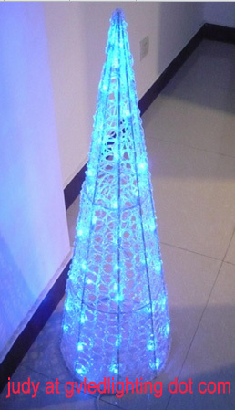 Cone Tree Led Christmas Lights