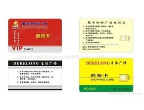 Contact Memory Smart Card Fm4442 256 Bytes