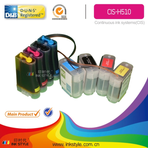 Continuous Ink System Best Tank For Hp Printer Designjet 510
