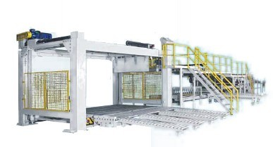 Conveyor H11 Equipped With Electric Stacker