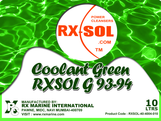 Coolant Green Rxsol G 93 94