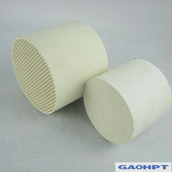 Cordierite Honeycomb Ceramic Catalyst Carrier