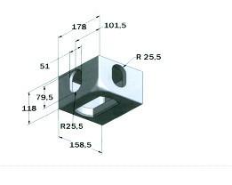 Corner Casting Fitting Container Corner021001am