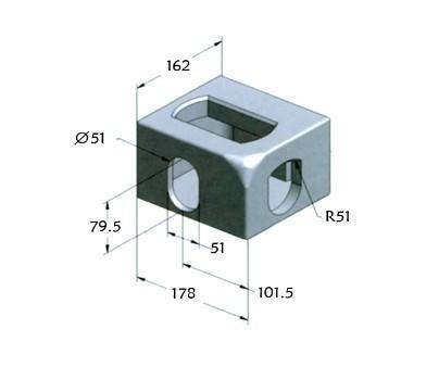 Corner Casting Fitting Container Corner021001bm