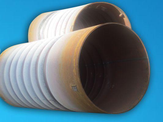 Corrugated Furnace Convolution Tube Wave Form Stove