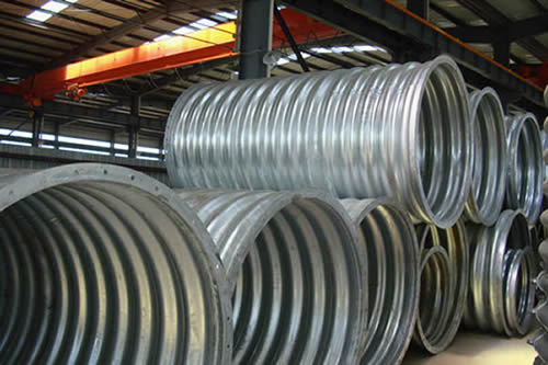 Corrugated Metal Pipe Does Better But Saves Money And Time