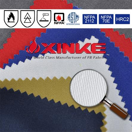 Cotton 320g Fabric Flame Retardant
