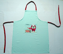 Cotton Printing Cooking Apron Sever Kitchen