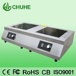 Counter Top Induction Cooker With Double Flat Burner